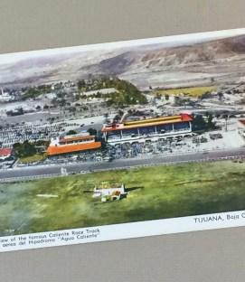 Litho Postcard of Hipodromo de Tijuana, MX