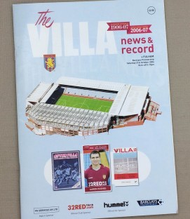 Aston Villa 2006 Program
