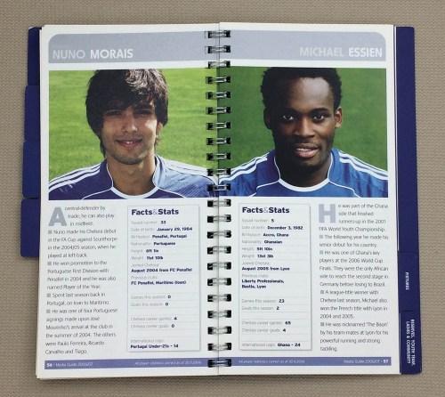Chelsea, Nuno Morais, Michael Essien