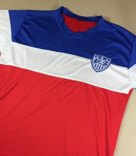 US Soccer rocket pop replica jersey