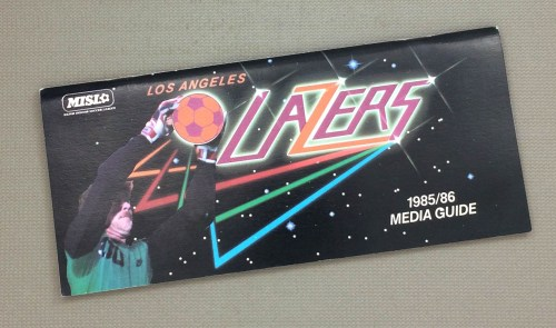 Los Angeles Lazers 1985-86