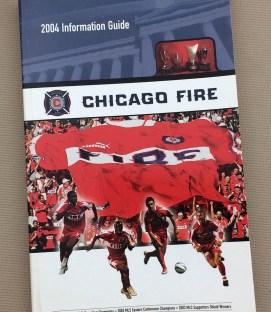 Chicago Fire 2004 Media Guide