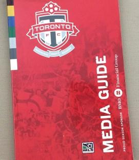 Toronto FC 2007 Inaugural Media Guide