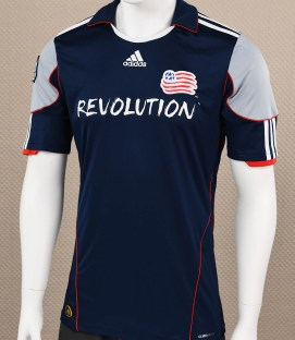 New England Revolution Adidas Blue Jersey