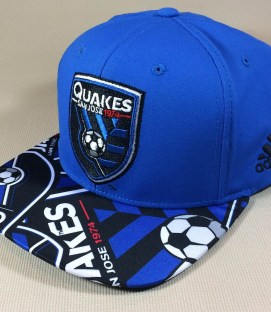 San Jose Earthquakes Adidas snap back cap