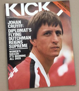 Kick Magazine Sockers Sting 1980 Program