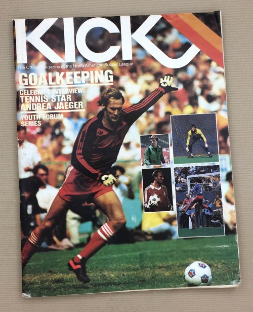 Kick Magazine Sockers Sting 1982 Program