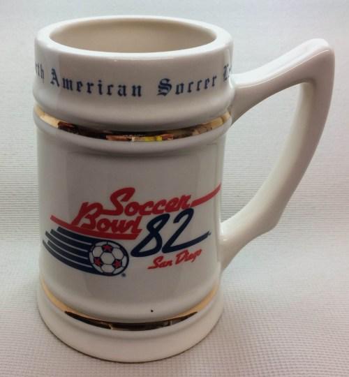 Soccer Bowl 1982 Collectors Mug