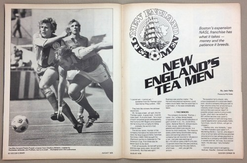 New England Tea Men Boston's expansion franchise
