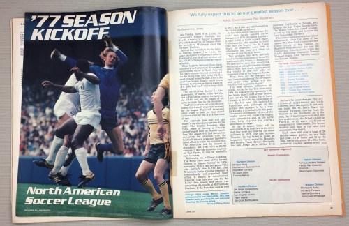 '77 Season Kickoff North American Soccer League