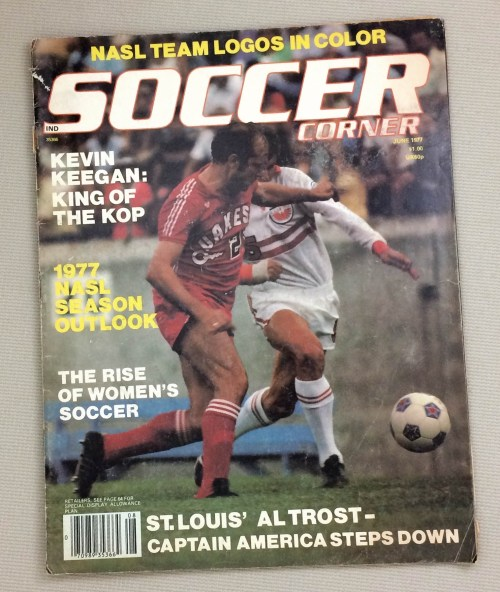Soccer Corner Magazine June 1977