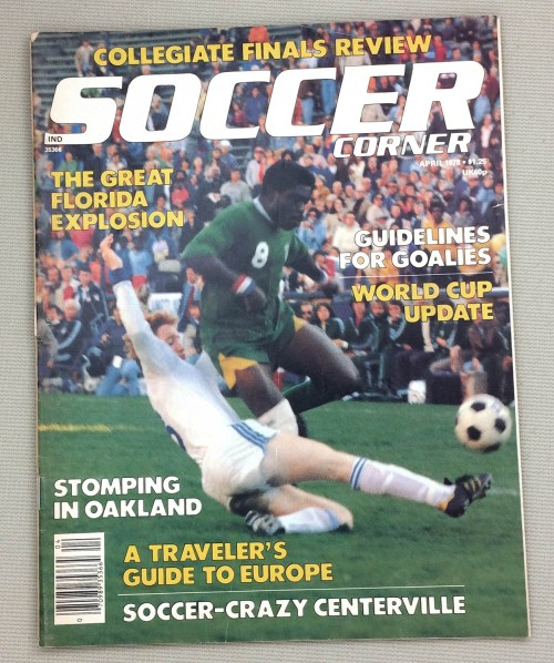 Soccer Corner Magazine April 1978