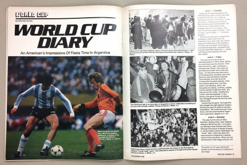 Argentina '78 World Cup Diary