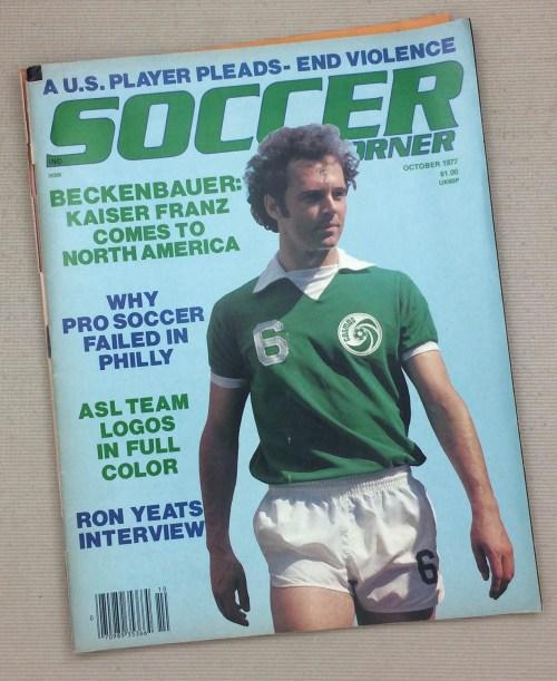 Soccer Corner Magazine October 1977