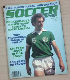 Soccer Corner Magazine October 1977