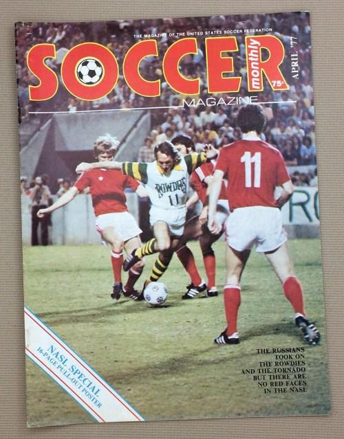 Soccer Monthly Magazine Spring 1977