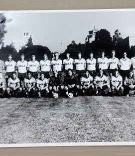 1985 UCLA Mens Soccer Team Photo