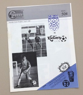 San Diego Nomads 1989 Program