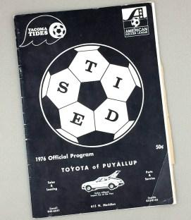 Tacoma Tides 1976 Playoff Game Program