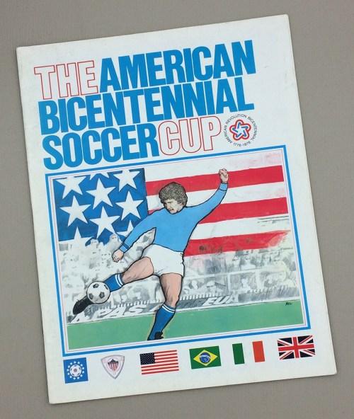 1976 Bicentennial Cup Brazil England