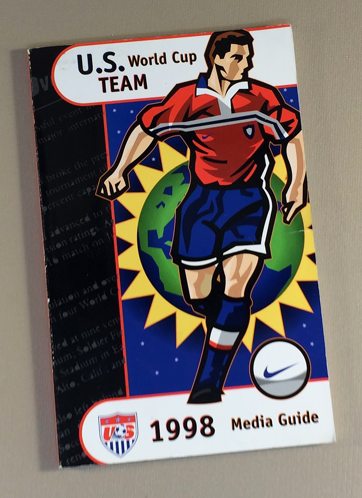 ac7f2b85f35 US Soccer 1998 Media Guide - SportsHistoryCollectibles.com