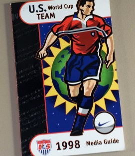 US Soccer 1998 Media Guide