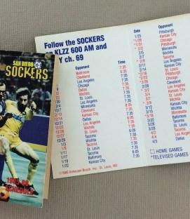 San Diego Sockers 1985-86 Schedule