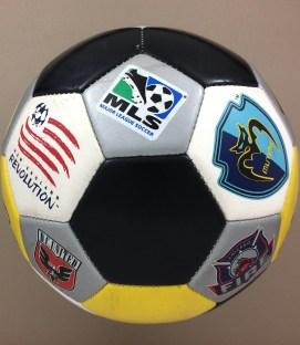 MLS Logo Ball circa 2000