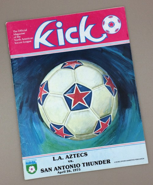Aztecs vs Thunder 1975 Program