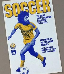 San Diego Sockers 1980 Season Ticket Brochure