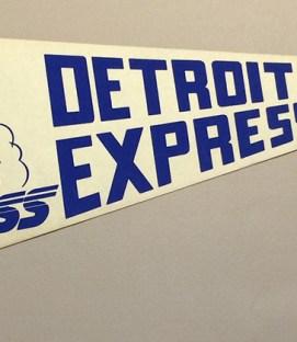 1978 Detroit Express Team Pennant