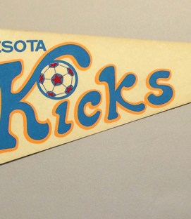 Minnesota Kicks Team Pennant