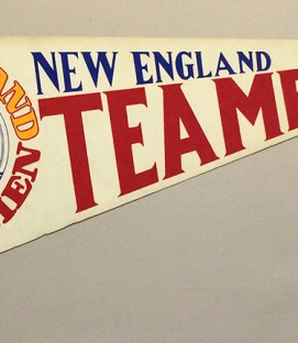 1978 New England Teamen Team Pennant