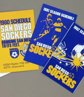San Diego Sockers NASL Schedule Set