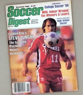 Soccer Digest November 1984