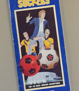 San Diego Sockers 1982-83 Media Guide