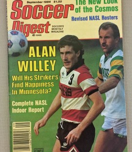 Soccer Digest September 1984