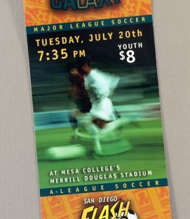 San Diego Flash vs LA Galaxy Ticket