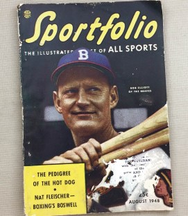 Sportfolio 1948 Featuring Bob Elliott of the Braves