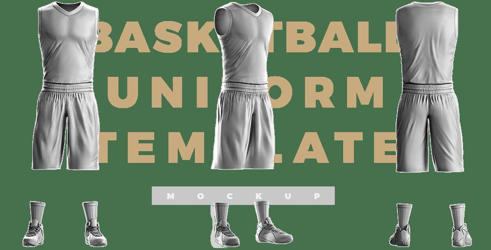 Download Slam Dunk Basketball Uniform Template - Sports Templates