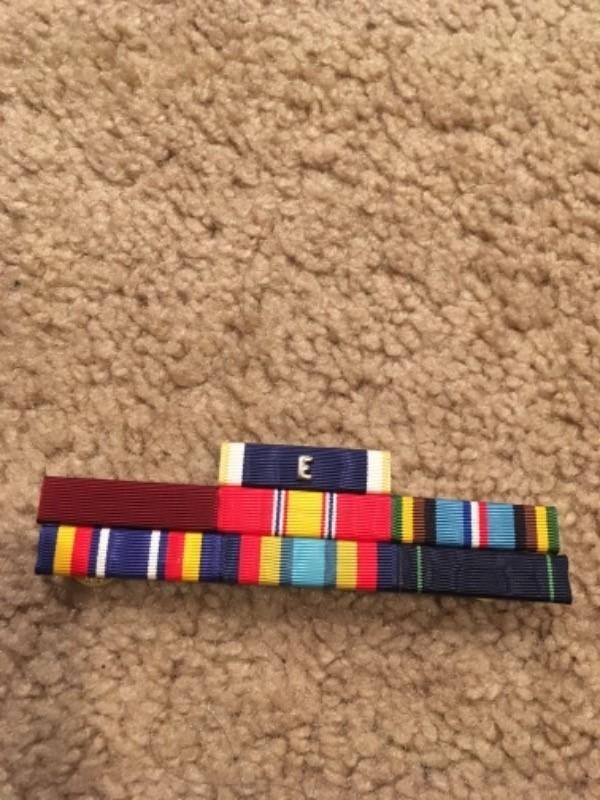 navy e ribbon usn militaria ww ii