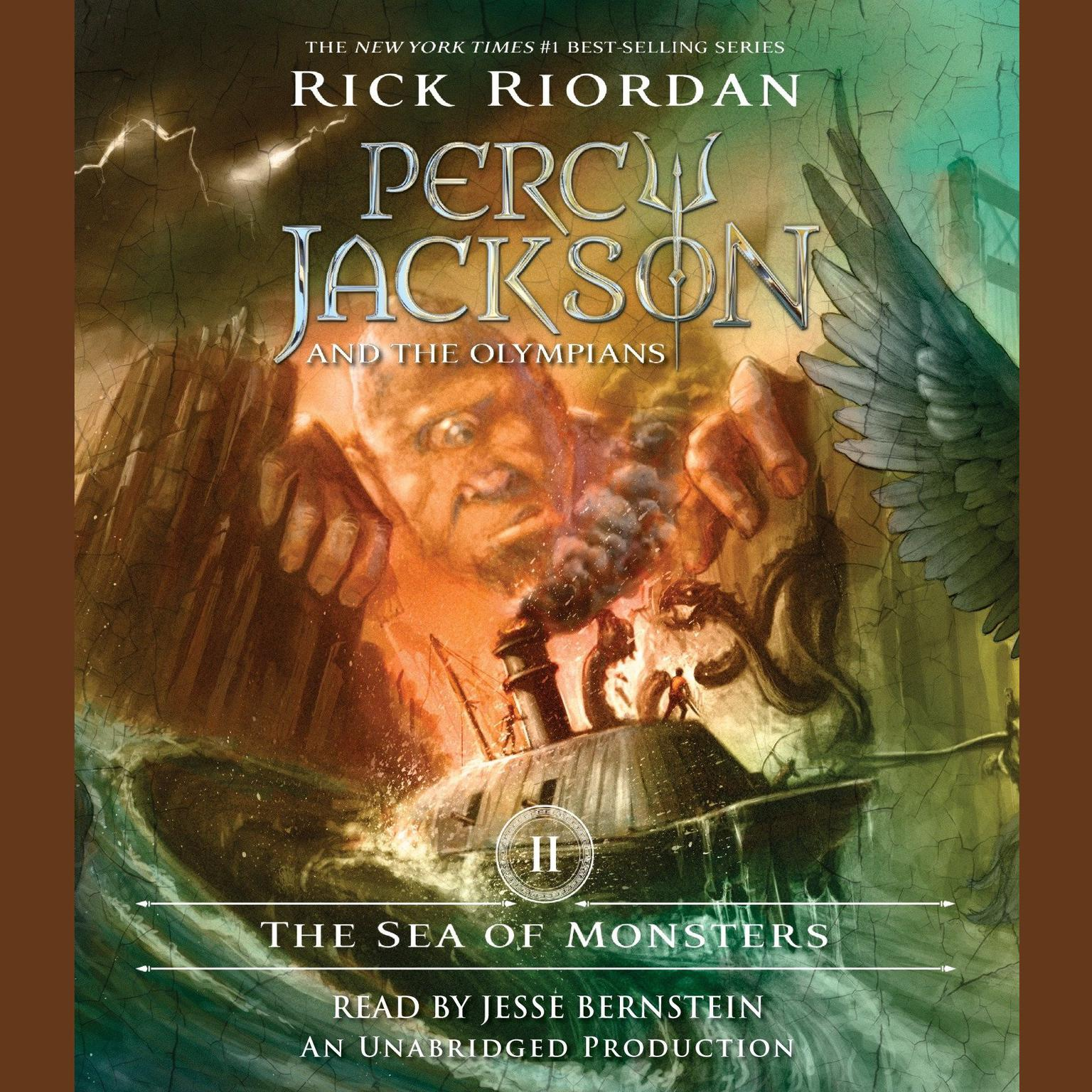 Download The Sea Of Monsters Audiobook By Rick Riordan For