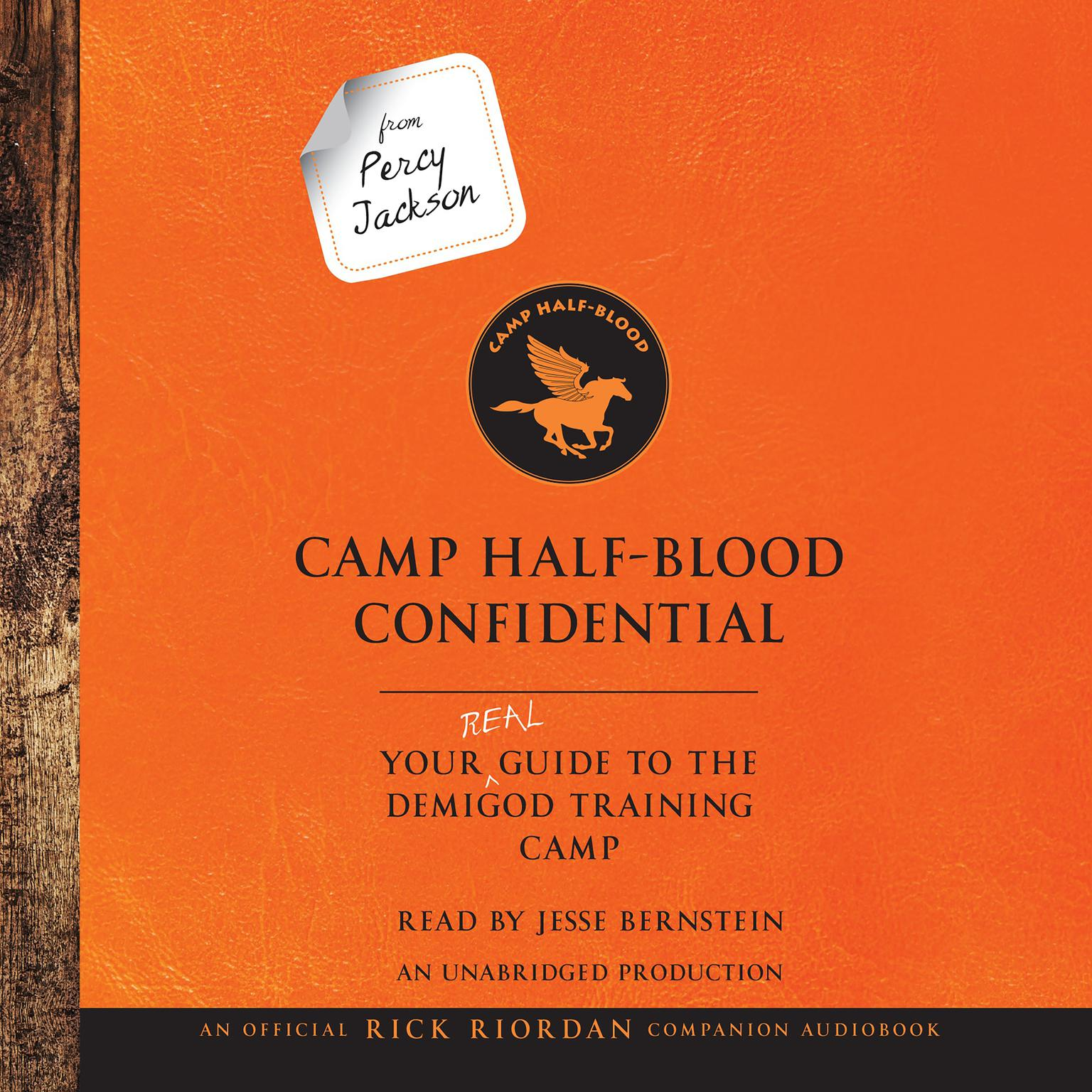 From Percy Jackson Camp Half Blood Confidential