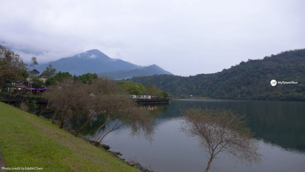 cycling route in Taiwan_liyu lake to guanfu2