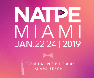 NATPE Miami | Jan. 22-24 | 2019
