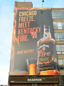 Jim Beam Ontario Billboard