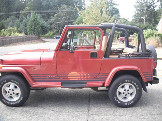 Jeep Yj Islander Edition Outside Nanaimo Nanaimo
