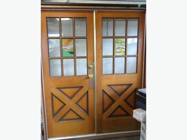 Solid Wood Exterior Doors Campbell River, Comox Valley