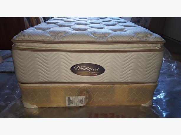 Single Size Mattress Box Spring And Metal Bed Frame