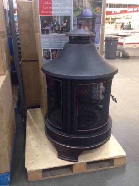 New in box outdoor fire pit from Costco West Shore ... on Costco Outdoor Fireplace id=66929
